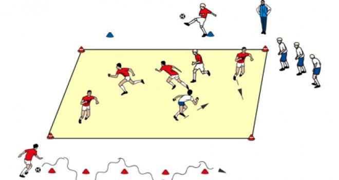 Sportunterricht Spiele: Mannschaftsfangen