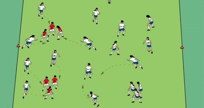 Sportunterricht Spiele: Atomspiel