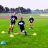 Sportunterricht: Koordinatives Aufwärmen im Kreuz