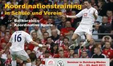 Sportunterricht Koordination: Koordinationstraining für Schule und Verein