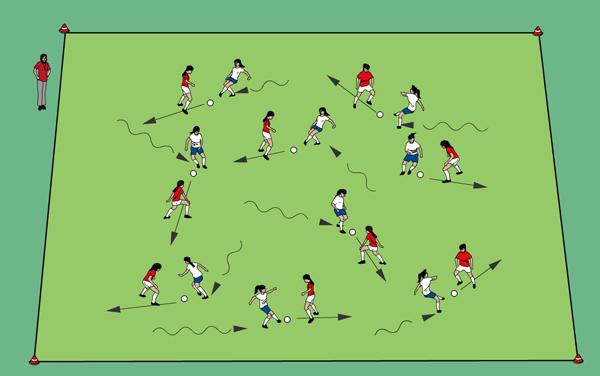 Sportunterricht Spiele: Tunneljagd