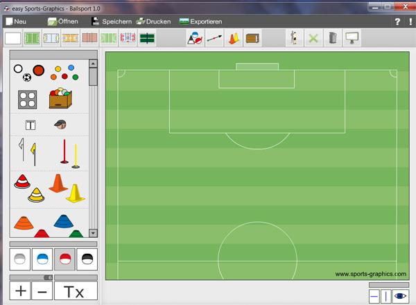 Sportunterricht Planen Mit Zeichensoftware