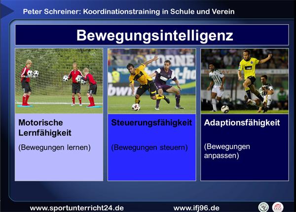 Peter Schreiner: Koordinationstraining für Schule und Verein
